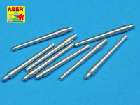 Set of 8 pcs 381mm (15in) L42 Mk.I short barrels for Hood, Repulse, Queen Elisabeth, Van