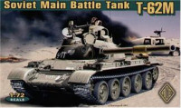 ACE72155 T-62M Soviet main battle tank