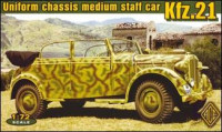 Kfz.21 - uniform chassis convertible body vehicle