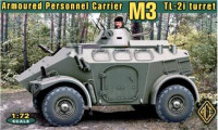 Irish M3 wheeled APC with TL-2i turret (4x4)