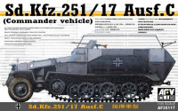 Sd. Kfz. 251/17 Ausf. C (commander Vehicle)