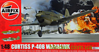 Истребитель Curtiss P-40B Warhawk