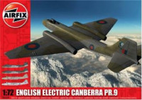 ENGLISH ELECTRIC CANBERRA PR.9 SERIES 5 (1:72 SCALE)