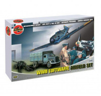 WWII LUFTWAFFE AIRFIELD SET - SERIES 6 (1:72 SCALE)