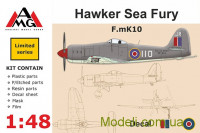 Истребитель F.mK10 Hawker Sea Fury