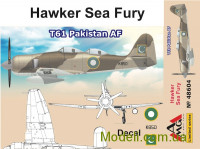 Истребитель Hawker Sea Fury T61, Пакистан