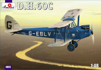 Биплан de Havilland DH.60C Cirrus Moth