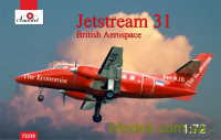 Пассажирский самолет Jetstream 31 British airliner
