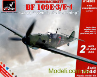 "Истребитель Messerschmitt Bf 109E-3/E-4 ""WWII: in the Beginning"", 2 шт."