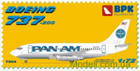 Пассажирский самолет Boeing 737-200 Pan American World Airways (Pan Am)