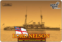 Броненосець HMS Lord Nelson Battleship, 1908 (Full Hull version)