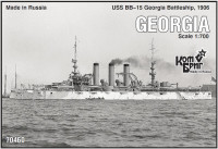 Ескадрений броненосець USS BB-15 Georgia Battleship, 1906