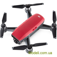 Квадрокоптер DJI SPARK Fly More Combo Lava Red (красный)