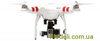 Квадрокоптер DJI Phantom 2 V2.0 H4-3D Edition с подвесом Zenmuse H4-3D для камер GoPro