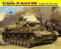 Немецкий танк Pz.Kpfw. IV Ausf.D DAK, Tropical Version
