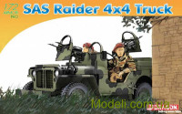 Американский армейский автомобиль SAS Raider Willys MB