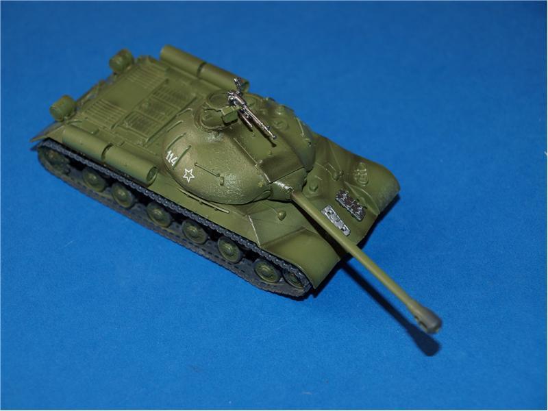 Описание собранная модель танка ис 3