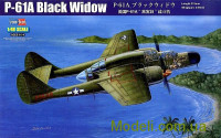 Истребитель P-61A Black Widow