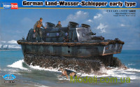 Тягач-амфибия Land-Wasser-Schlepper, early type