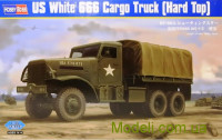 Американский грузовик White 666 Cargo (Hard Top)