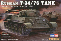 Rissian T-34/76 (model 1942 Factory No.112) Tank