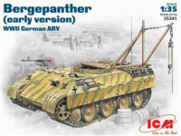 Bergepanther WWII German ARV, early version
