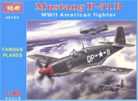 Mustang P-51B WWII USAF fighter