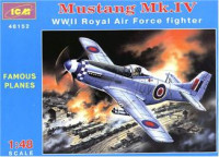 Mustang Mk.IV WWII RAF fighter