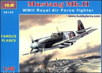 Mustang Mk.II WWII RAF fighter