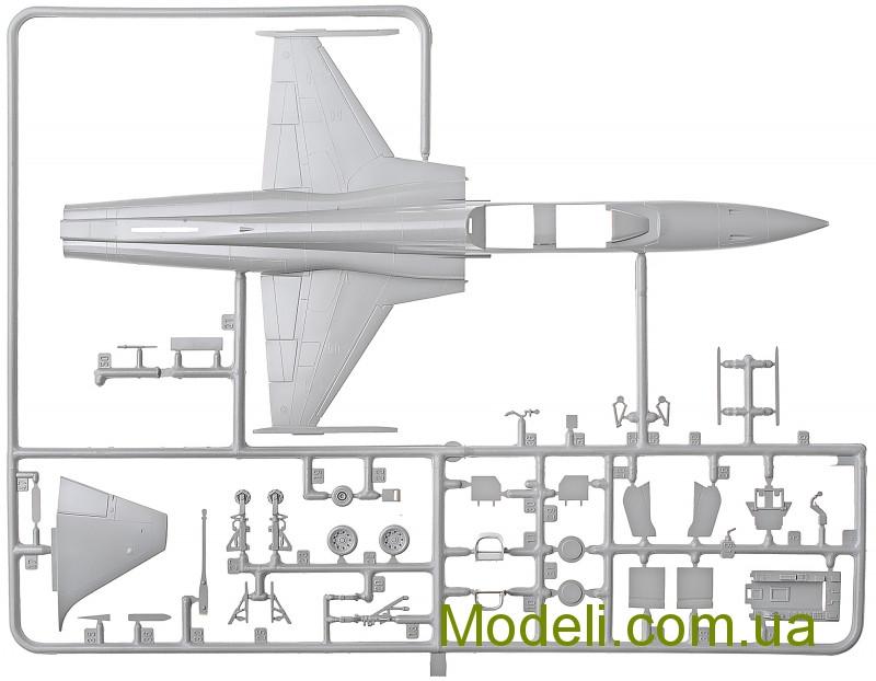 Italeri 1//72 F-5F Tiger II # 1382