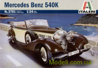 Автомобиль Merseges Benz 540K