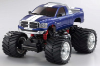 MZ Monster r / s DODGE RAM 1500 M. Blue на шасі MM MAD FORCE