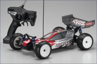 1 / 10 EP 4WD r / s Lazer ZX-5 Type 1 Red / Gray на шасі LA5RS Lazer 5 Ready Set