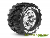 Колеса Louise Monster 1/8 MT-CYCLONE Sport вылет 1/2 хром 2шт (L-T3220CH)