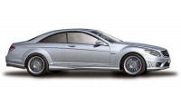 Автомодель Mercedes-Benz CL63 AMG (серебристый)