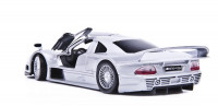 Автомодель Mercedes CLK-GTR street version (сріблястий)