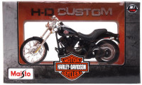 MAISTO  39360-40 Модель мотоцикла Harley-Davidson 2002 FXSTB Night Train