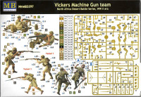 Master Box  3597 Vickers Machine Gun team, North Africa Desert Battle Series, WW II era