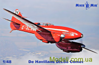 Духмоторный гоночный самолёт De Havilland DH.88 Comet