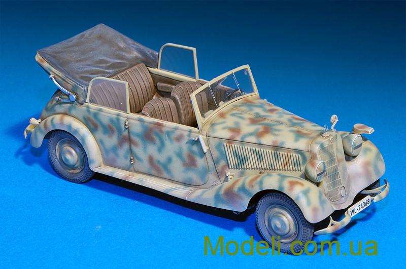 Сборная модель MiniArt Британский командный автомобиль с экипажем 35050М