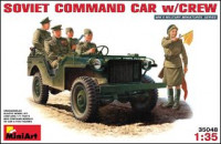 MA35048  Soviet command car with crew