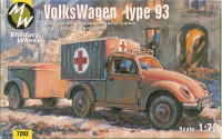 MW7203 Volkswagen German car 4x4 type 93