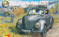 MW7205 Volkswagen German car 4x4 type 230 / 3