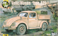 Military Wheels  7206 MW7206 Volkswagen German car 4x4 type 825
