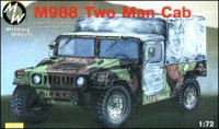 M988 US two man army jeep HMMWV