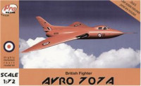 AVRO 707A, British fighter (resin)