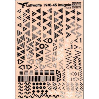 Luftwaffe insignia 1940-45, Part 3, 1/72-1/48, dry decal
