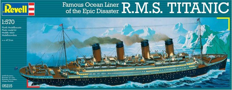Пароход R.M.S. Titanic