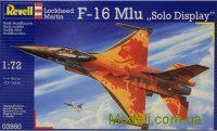 Истребитель F-16 Mlu Solo Display Klu