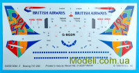 "Пассажирский самолет Boeing 737-200 ""British Airways"""